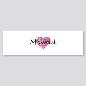 Madrid Bumper Sticker