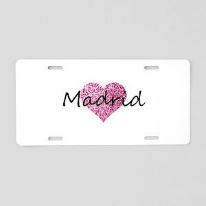 Madrid Aluminum License Plate
