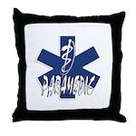 Paramedic Action Throw Pillow