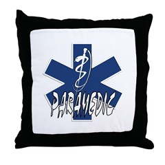 Paramedic Action Throw Pillow
