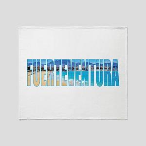 Fuerteventura Throw Blanket
