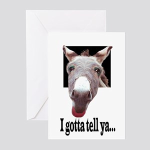 PANTYHOSE Greeting Cards (Pk of 10)