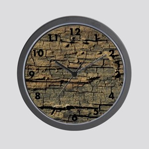 WEATHERED WOOD - Wall Clock