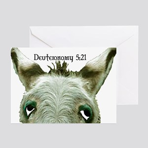 DEUTERONOMY Greeting Cards (Pk of 10)