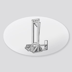 Guillotine Sticker (Oval)