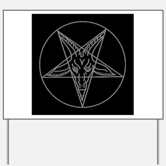 Cute Occult Yard Sign