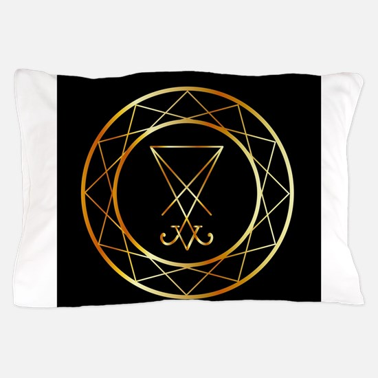 Satanic pentagram Pillow Case