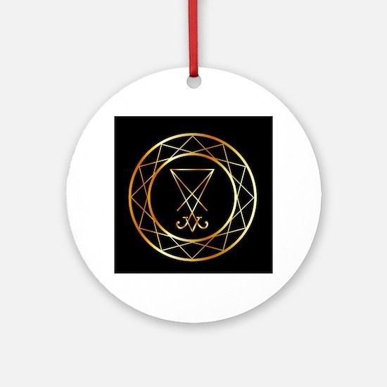 Unique Freemasonry Round Ornament
