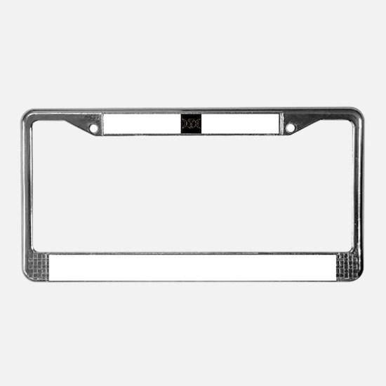 Cool Baphomet License Plate Frame