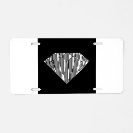 Cute Engagement Aluminum License Plate