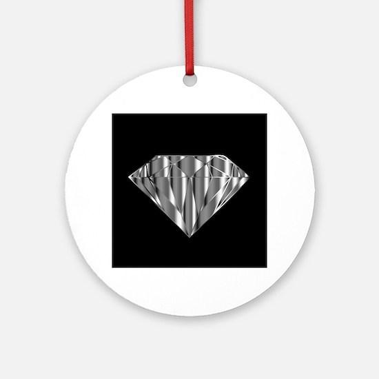 Cute Diamond Round Ornament