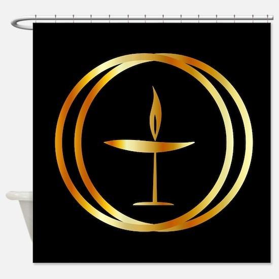 Cute Religion Shower Curtain