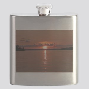 Sunset Lake Vermilion Flask