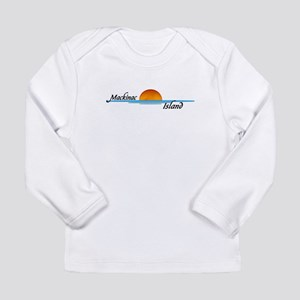 Mackinac Island Sunset Long Sleeve T-Shirt