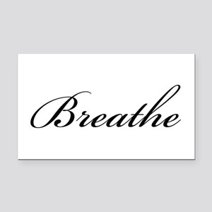 Breathe The Word 1712 Rectangle Car Magnet