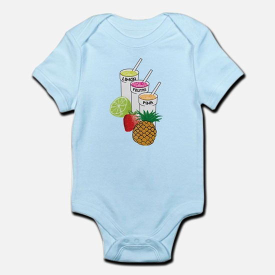 Summer Fruit smoothie Body Suit