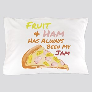 Fruit Pizza Pillow Case