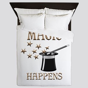 Magic Happens Queen Duvet