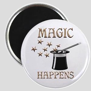 Magic Happens Magnet
