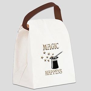 Magic Happens Canvas Lunch Bag