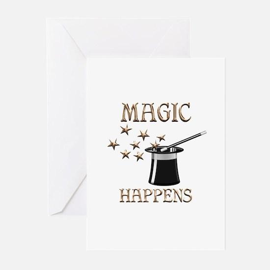 Magic Happens Greeting Cards (Pk of 10)