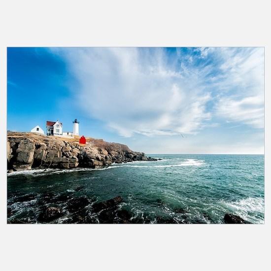 Unique Maine lighthouse Wall Art