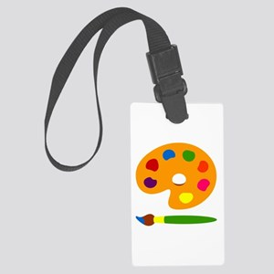 Paint Palette Large Luggage Tag