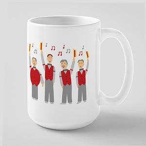 Classic Barbershop Quartet Large Mug