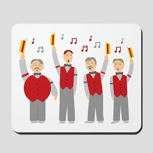 Classic Barbershop Quartet Mousepad