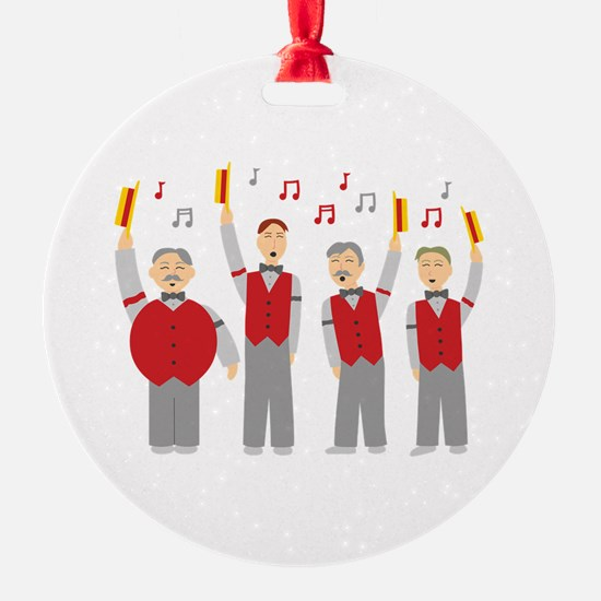 Classic Barbershop Quartet Ornament
