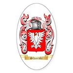Slwarski Sticker (Oval 10 pk)