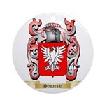 Slwarski Round Ornament