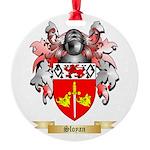 Sloyan Round Ornament