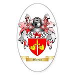 Sloyan Sticker (Oval 50 pk)