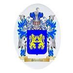 Slomka Oval Ornament