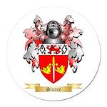 Sloane Round Car Magnet