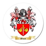 Sloan Round Car Magnet