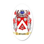 Slingsby Oval Car Magnet