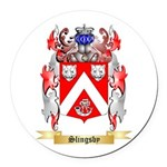 Slingsby Round Car Magnet