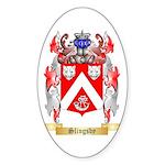 Slingsby Sticker (Oval 50 pk)