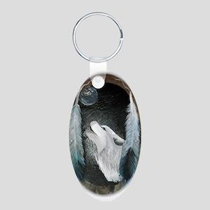 white wolf Keychains