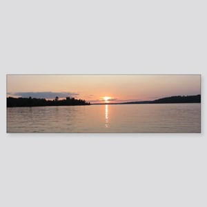 Sunset Lake Vermilion Bumper Sticker