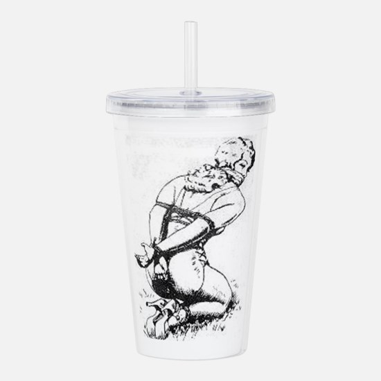 All Tied Up Acrylic Double-wall Tumbler