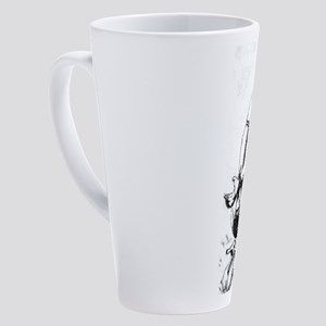 All Tied Up 17 oz Latte Mug