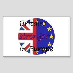 Stronger In Europe Sticker (Rectangle 10 pk)