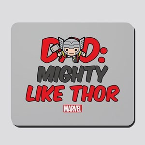 Mighty Thor Dad Mousepad