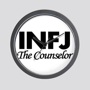 INFJ | The Counselor Wall Clock