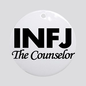 INFJ | The Counselor Round Ornament