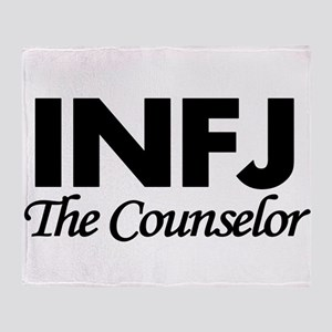 INFJ | The Counselor Throw Blanket