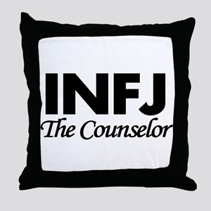 INFJ | The Counselor Throw Pillow